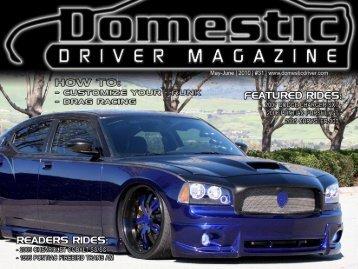 readers rides - Domestic Driver Magazine