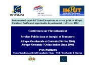 Transport & Public Utilities Investment Conferences Yves Palmero ...