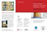 Symptom Bauch- schmerzen – Ursachen, Diagnostik, Therapie