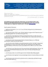 EP-Entschließung zu Mindesteinkommen - Schroedter, Elisabeth