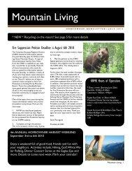 July 2010 - Kicking Horse Mountain Resort