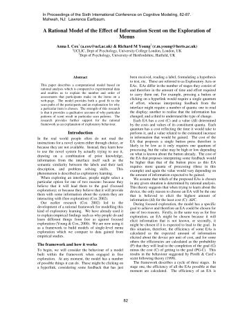 the phenomenon of heuristics in the notion of rationality Abstract: the notion of rationality is crucial to computer science and artificial   evidence for the place of inferential heuristics in a theory of rationality  it is  possible to discern, within the phenomenon of reasoning, the encoding, the.