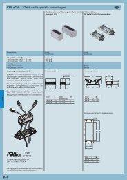 CYR - CHI Gehäuse für spezielle Anwendungen Type 4/4X/12