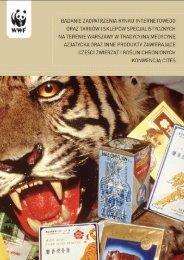 Badanie zaopatrzenia rynku internetowego oraz targów i ... - WWF