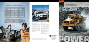 Sturdy engines for the toughest conditions