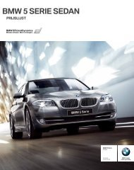 BMW 5 SERIE SEDAN - EU-Import