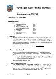 Dienstanweisung 03-FF 60 1. Brandmeister vom Dienst - Freiwillige ...