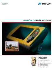 ContrôLe LPS Pour BuLLdozer - Topcon Positioning