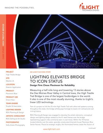 download pdf of case study - iLight Technologies