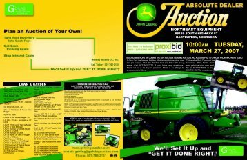 232sale flyer.pdf - Gehling Auction