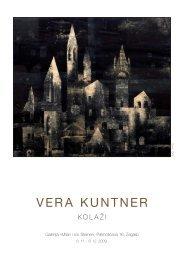 Vera Kuntner katalog.pdf - Židovska općina Zagreb