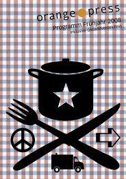 Foucault & Chomsky - Orange Press