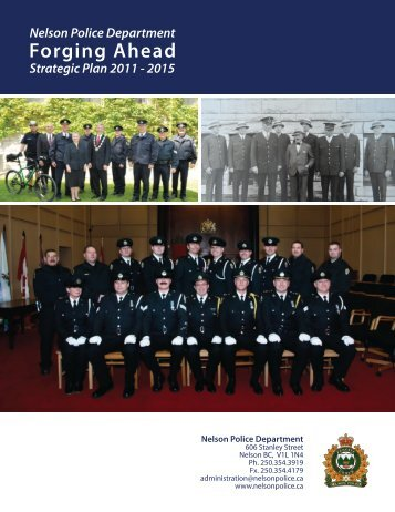 Strategic Plan 2011-2015 - City of Nelson