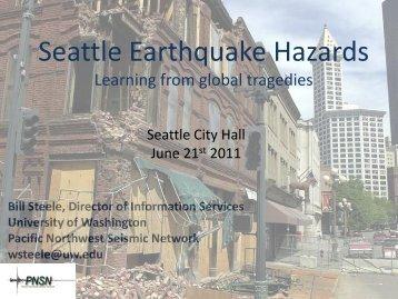 Seattle Earthquake Hazards