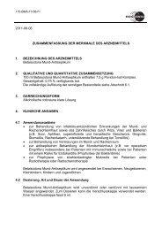 2011-06-06 ZUSAMMENFASSUNG DER ... - Mundipharma