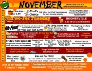 View this month's specials. - Bridgewood Resort Hotel and ...