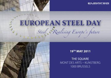 EUROPEAN STEEL DAY
