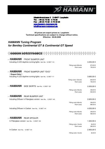 Continental GT engl.pdf - Tuning
