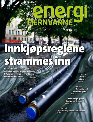 På nyåret kommer nye regler for offentlige ... - Norsk Fjernvarme