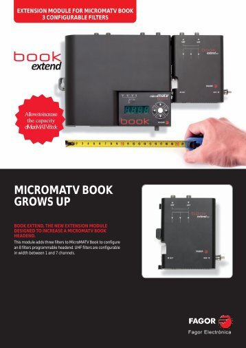 MICROMATV BOOK GROWS UP