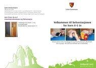 Velkommen til helsestasjonen for barn 0-5 år - Løten kommune