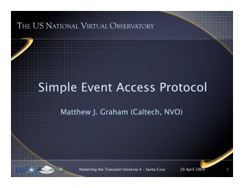 Simple Event Access Protocol