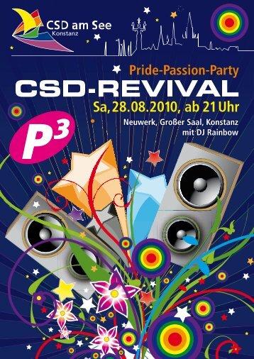 P3-Party CSD-Revival am 28.08.10 im Neuwerk