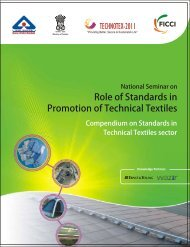 Compendium on standards in Technical Textiles sector - Ministry of ...