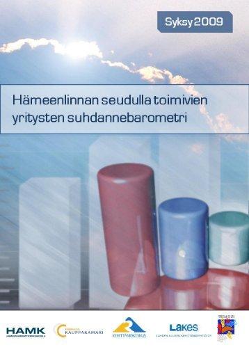 Suhdannebarometri - Kehittämiskeskus Oy Häme