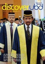 Seventh issue . July - September 2012 - Universiti Brunei Darussalam