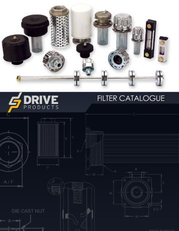 Filter Catalogue - Drive Products