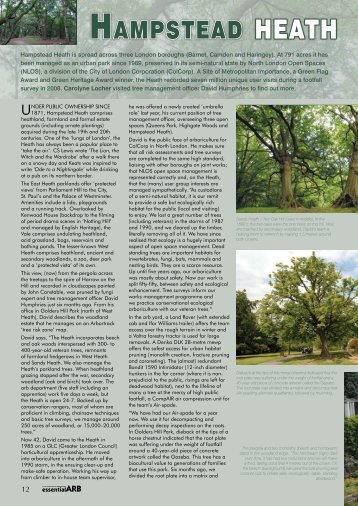 HAMPSTEAD HEATH - Forestry Journal