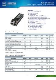 P/N: SP-GB-EZX - Source Photonics