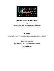 request for qualifications for architectural/engineering services for ...
