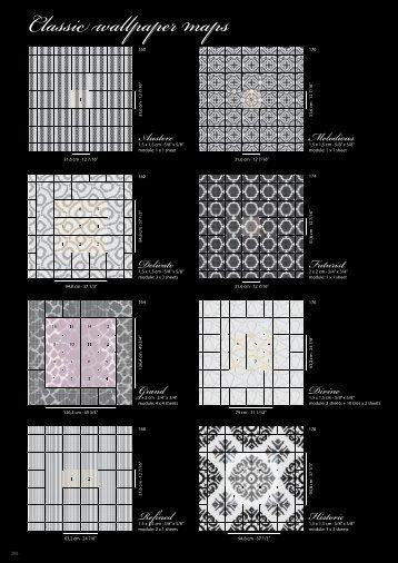 Classic wallpaper maps