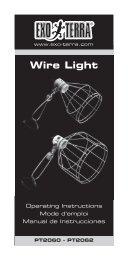 Wire Light - Exo Terra