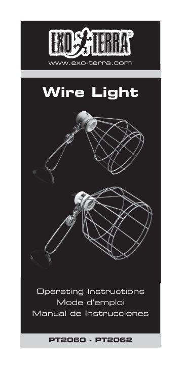 Wire Light - Exo Terra