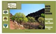 Santa Clara River Reserve - Bureau of Land Management