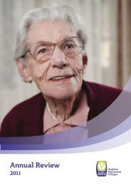 2011 ARV Annual Review - Anglican Retirement Villages