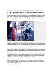 El 64% del gasto del coche procede del combustible - El Chapista