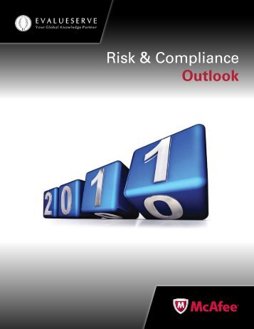 Risk & Compliance Outlook - McAfee