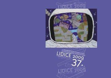 Katalog 37. ročníku MDVV - MDVV Lidice