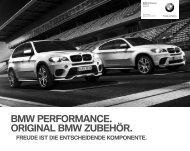 PerfE7x CHde Titel.indd - BMW