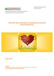 Esperienze di counselling strutturato nelle Aziende Usl - Saluter