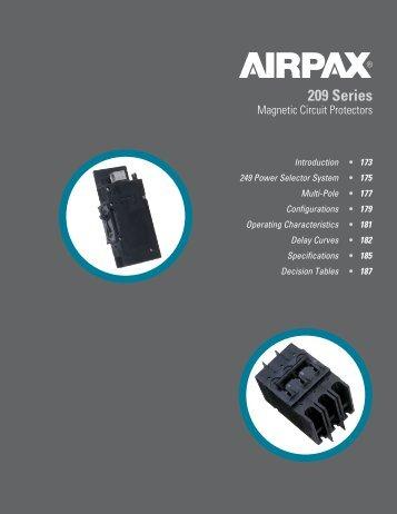 209 Series - Airpax - Sensata