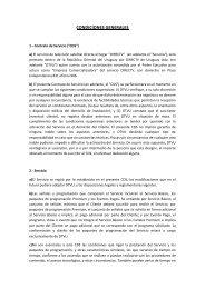 CONDICIONES GENERALES - DirecTV