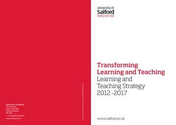 E-learning strategy university