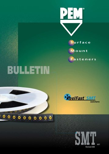 ReelFast® Surface Mount Fasteners