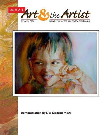 Demonstration by Lisa Mozzini-McDill - Midvalley Arts League