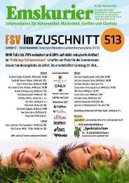 Informationen für Harsewinkel, Marienfeld ... - Emskurier Harsewinkel